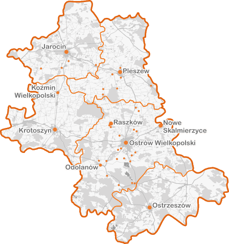 Zasięg - mapa mała